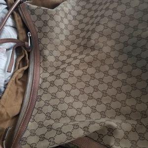 Monogram Gucci bag